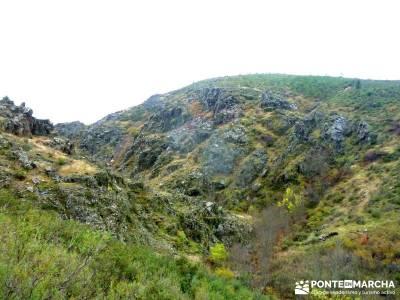 Atazar a Patones; Senda Genaro GR-300; viajes alternativos; noviembre